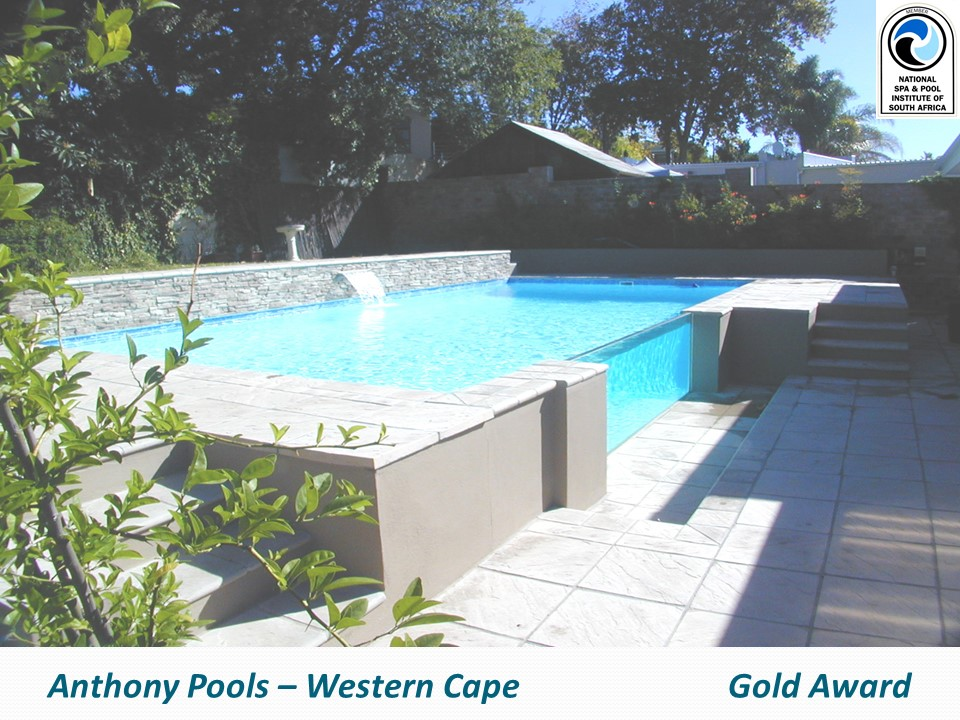 Awards nspi national spa pool institute of south africa for Swimming pool covers south africa